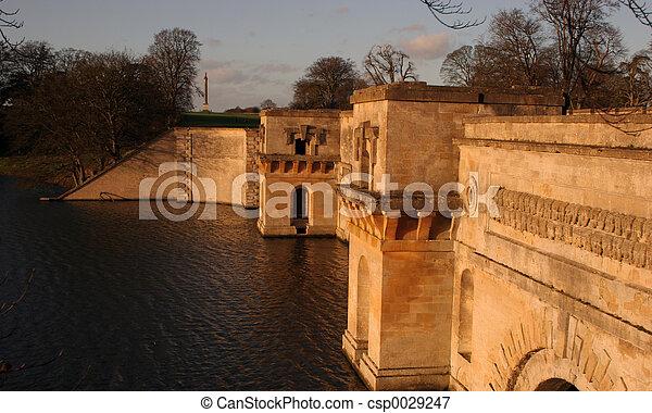 bridge in sunlight - csp0029247
