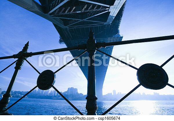 Bridge in Sydney, Australia. - csp1605674