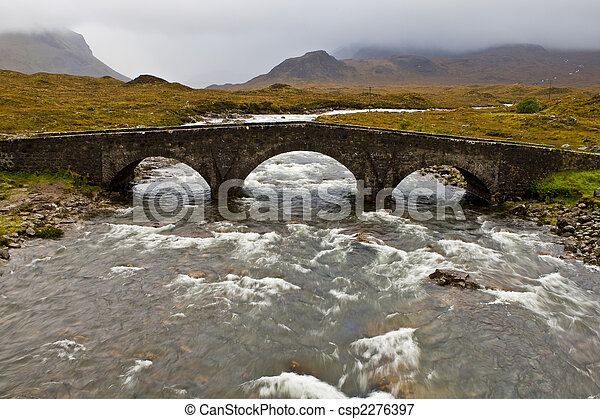 Bridge on Sligachan - csp2276397