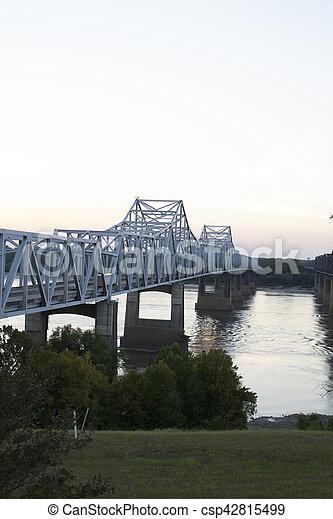 Bridge over Mississippi River - csp42815499