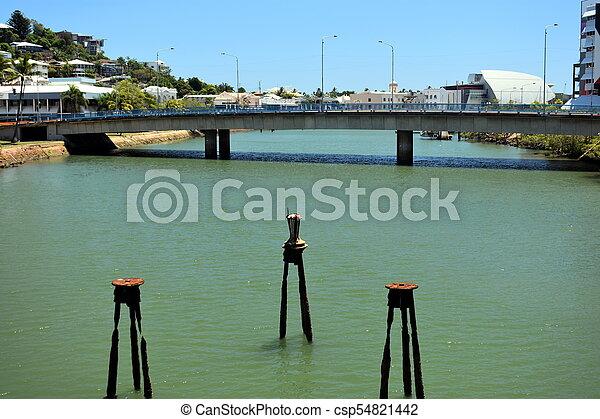 Bridge over Ross creek - csp54821442