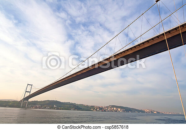 bridge over the Bosporus  - csp5857618