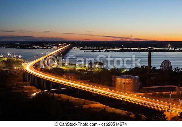 Bridge over the river - csp20514674