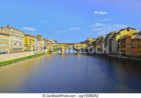 Bridge Ponte Vecchio in Florence, Italy - csp10098252