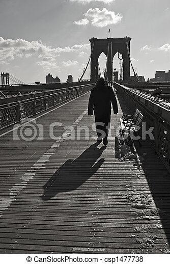Bridge Walk - csp1477738