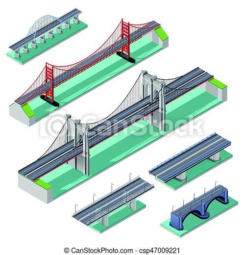 Bridges Isometric Set - csp47009221