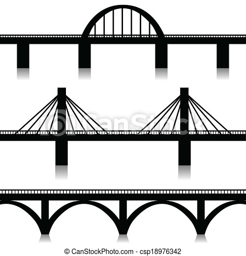 Bridges set - csp18976342