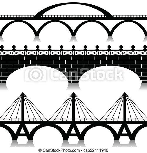 Bridges set - csp22411940