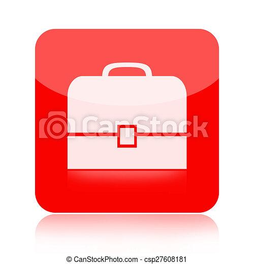 Briefcase icon - csp27608181