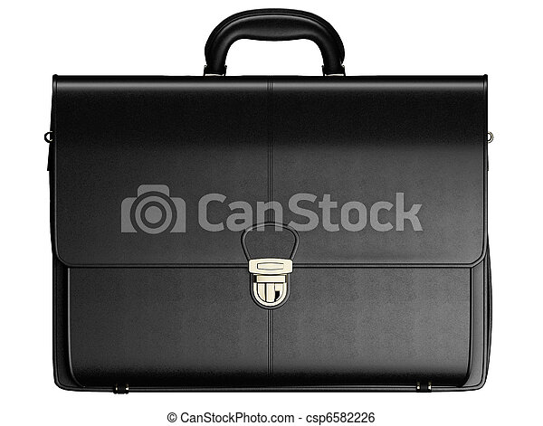 Briefcase isolated - csp6582226