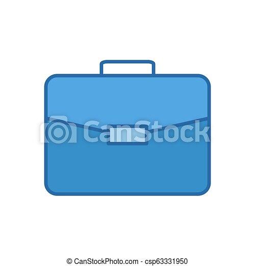 Briefcase Vector Icon. - csp63331950