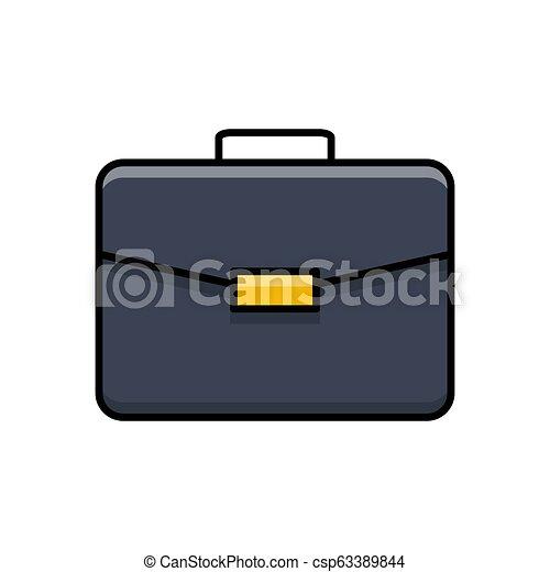 Briefcase Vector Icon. - csp63389844