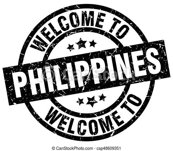 Willkommen auf den Philippinen - csp48609351
