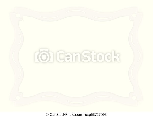 Bright abstract frame. - csp58727093