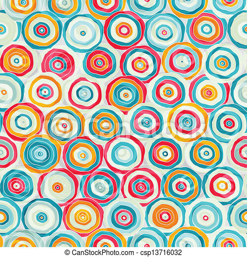 bright abstract psychedelic seamless pattern - csp13716032