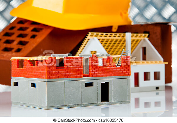 Bright building concept - csp16025476