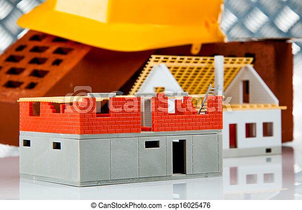 Bright building concept - csp16025476