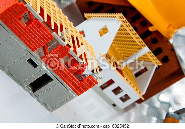 Bright building concept - csp16025452