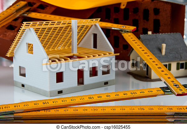 Bright building concept - csp16025455