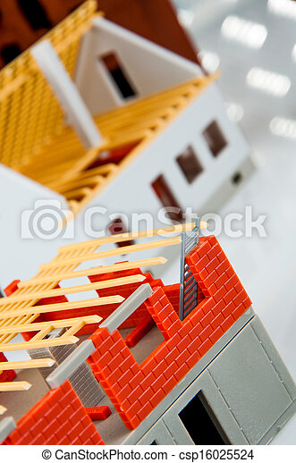 Bright building concept - csp16025524