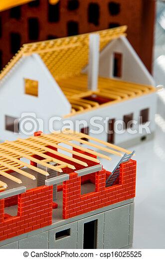 Bright building concept - csp16025525