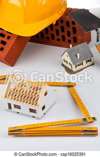 Bright building concept - csp16025391