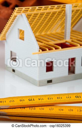 Bright building concept - csp16025399