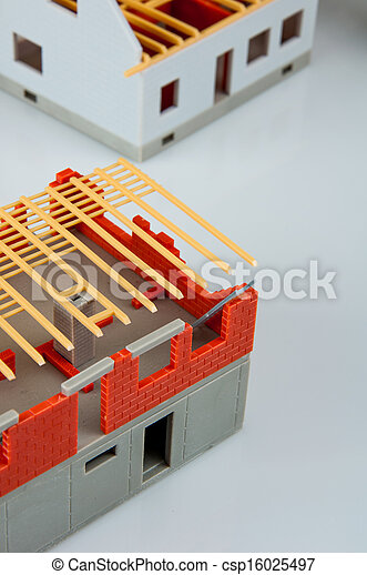 Bright building concept - csp16025497