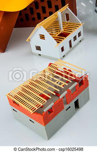 Bright building concept - csp16025498