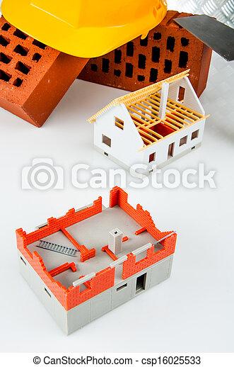 Bright building concept - csp16025533