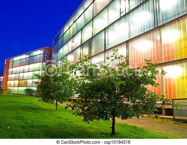 Bright building - csp10184318