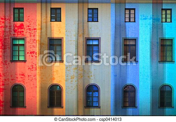 Bright building - csp0414013