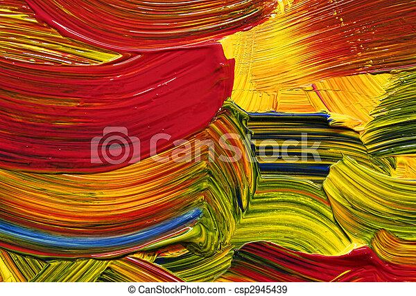bright color strokes - csp2945439