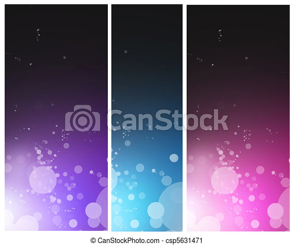Bright colorful abstract  - csp5631471
