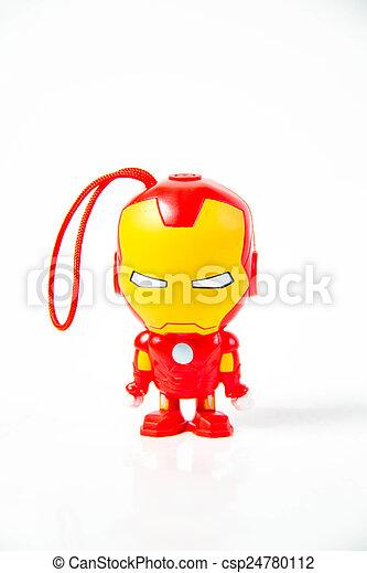 bright colourful plastic toys - csp24780112