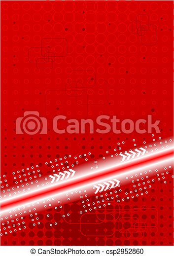 Bright contrast technical background - csp2952860