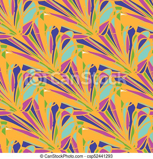 bright geometric seamless pattern grunge effect - csp52441293