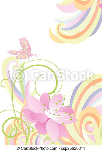 Bright light colorful flower background bright light colorful flower background csp25626811 mightylinksfo