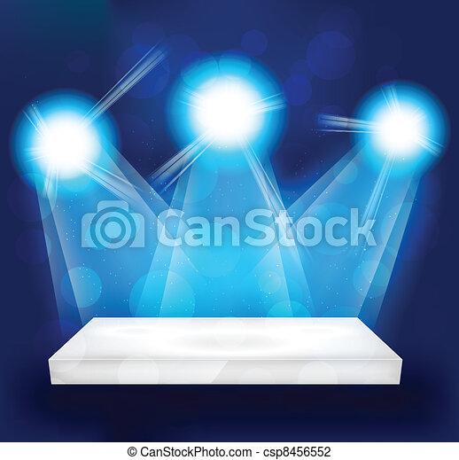Bright lights - csp8456552