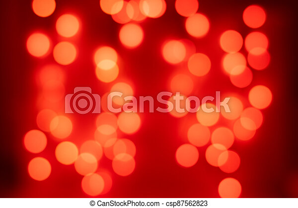 Bright Orange Bokeh Filling The Frame Bright Orange Bokeh On A Black Background Canstock