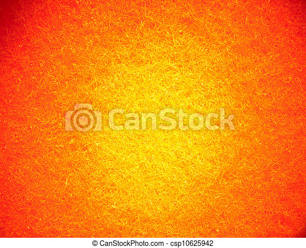 Bright orange yellow textured abstract background - csp10625942