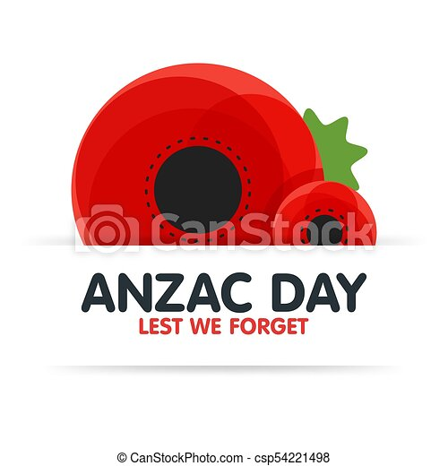 Bright poppy flower remembrance day symbol anzac day in eps bright poppy flower remembrance day symbol anzac day in australia lest we forget vector mightylinksfo