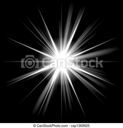 bright shining star an abstract lens flare a highly useful art rh canstockphoto com shining star clipart images animated shining star clipart