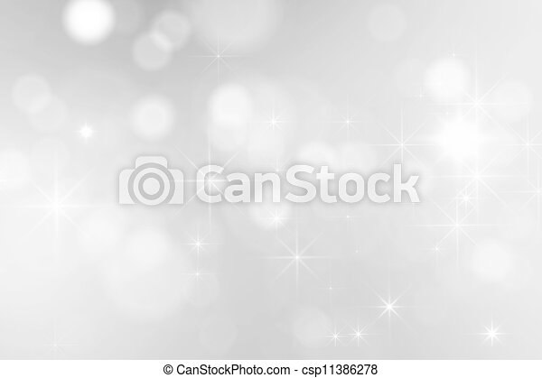bright silver sparkles background - csp11386278