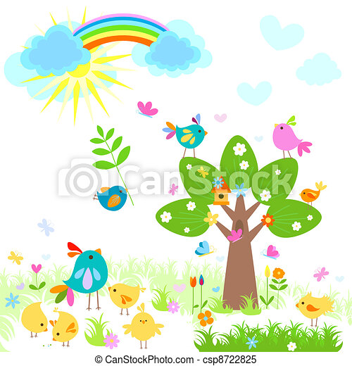 bright spring  - csp8722825