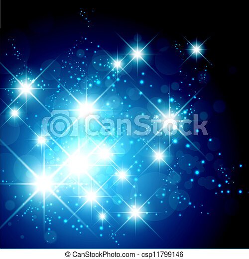 Bright Star Holiday Background - csp11799146