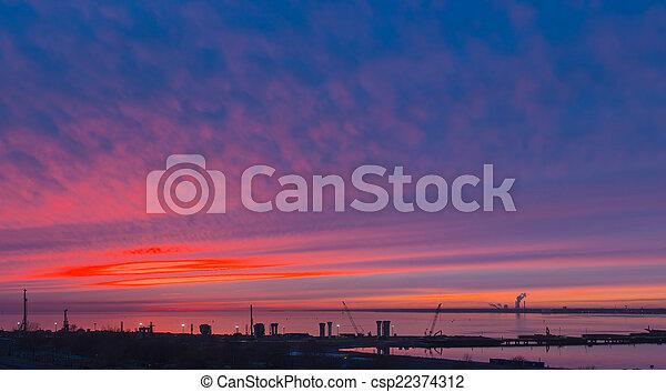 bright sunset - csp22374312
