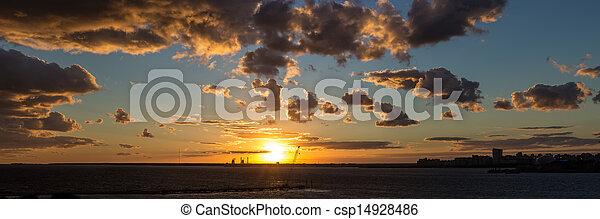 bright sunset - csp14928486