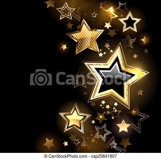 brillant, étoile, or - csp25641807