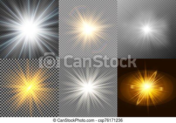 brillante, conjunto, stars. - csp76171236